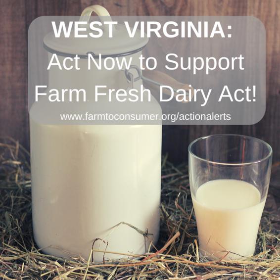 West Virginia Farm Fresh Dairy Act